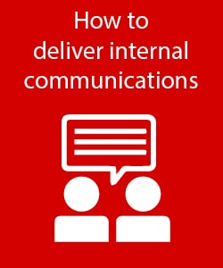 How to deliver internal communications