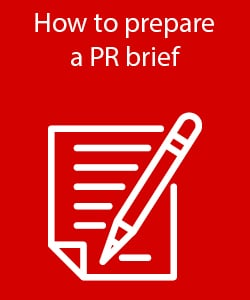 How to prepare a PR brief