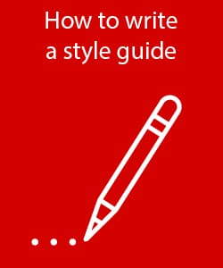 How to write a style guide